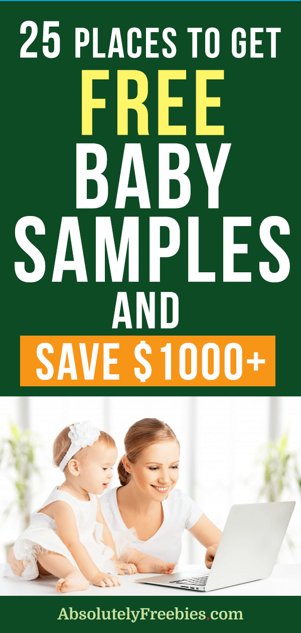 Learn how to get free baby samples by mail. Free baby stuff worth $1000+ up for grabs! #freebabysamples #freebabystuff babygiftbox