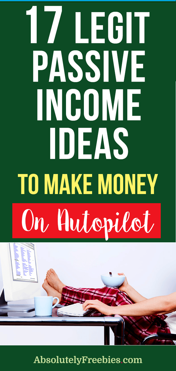 17 passive income ideas you can start fast that will put consistent extra cash into your pocket. Grow you money and build your wealth automatically and effortlessly. #passiveincomeideas #extracash #passiveincomeexamples