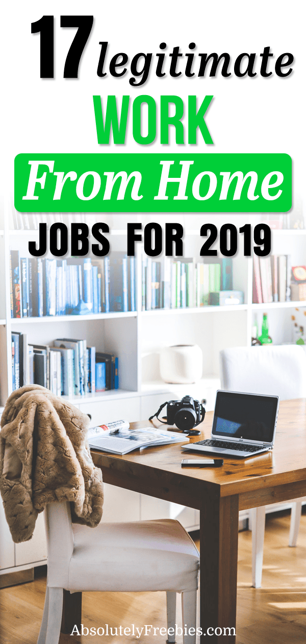 Discover 17 legitimate work from home jobs that allows you to work online remotely. The list includes companies that may be hiring and will help you generate income from home. #workfromhome #homejobs #onlinejobs #remotejobs