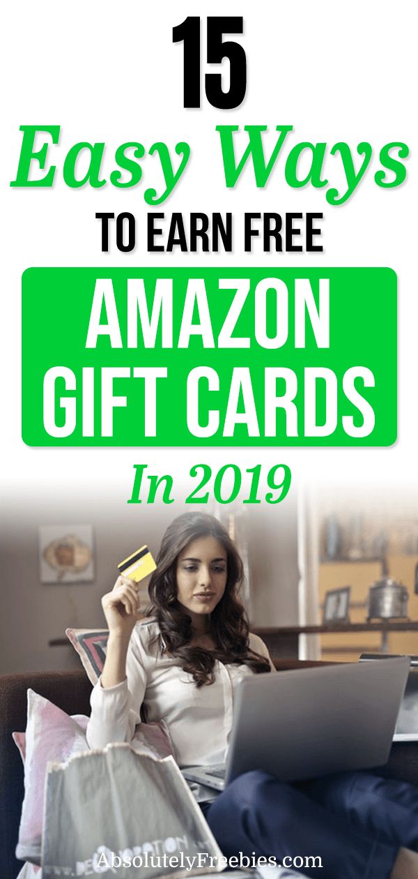 15 easy ways to get free Amazon gift cards in your spare time. Check out this comprehensive guide on how to instantly get paid in free Amazon gift cards fast doing various online activities. #amazongiftcards #howtogetamazongiftcards #amazongiftcardcodes