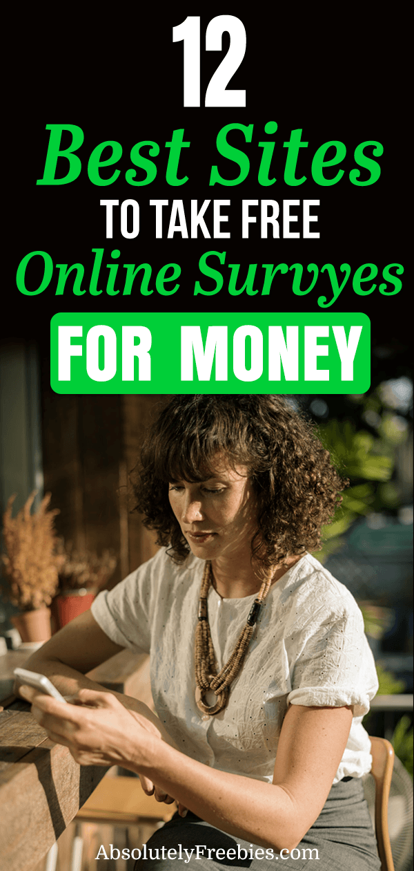 Discover 12 best paid surveys for money (up to $50/hr). Make money online by answering survey questions in your spare time. We review 12 legit paid surveys sites to help you earn thousands per month. #surveysformoney #paidsurvey #bestsurveysites