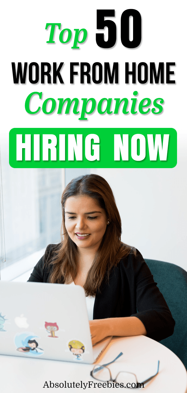 Top 50 work from home companies that allow you to work remotely from anyway. These are legit companies that offer telecommute jobs or remote jobs. The list includes companies that accept job seekers from other countries apart from the US. #workfromhome #telecommutingjobs #remotejobs #workfromhomecompanies