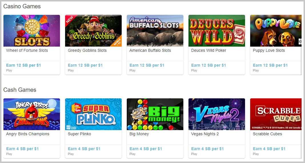free paid games from swagbucks