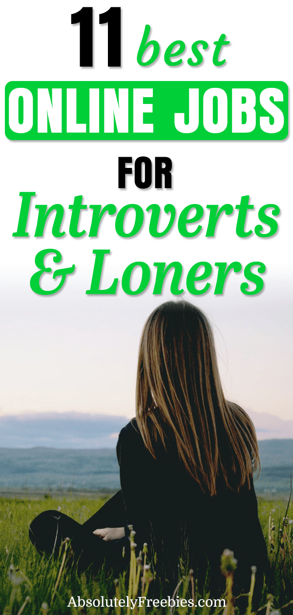 If you are an introvert or loner looking for a job or extra income, here are some online jobs for introverts in which you would most likely excel. #onlinejobsforintroverts #jobsforloners #onlinejobs