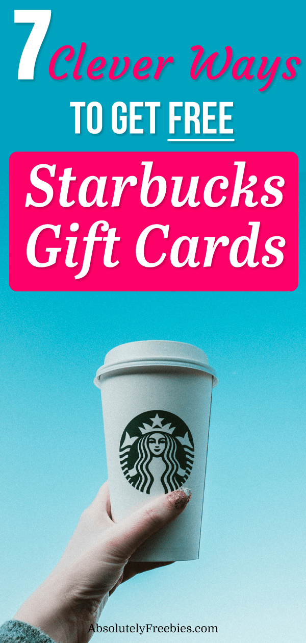 Starbucks Gift Cards are the best gifts to receive and give. In this article I'm going to show you how to get FREE Starbucks Gift Cards today! #starbuckscoffee #freestarbucksgiftcards #starbucksgiftcards