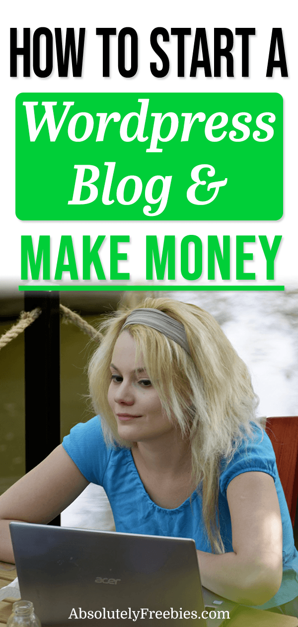 Learn how to start your own WordPress blog and make money blogging even without technical knowledge. It takes just minutes to get started! #startablog #makemoneyblogging