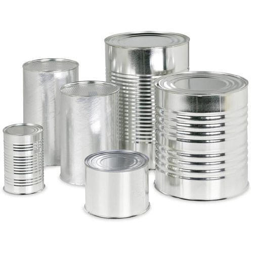 Steel cans for scraps