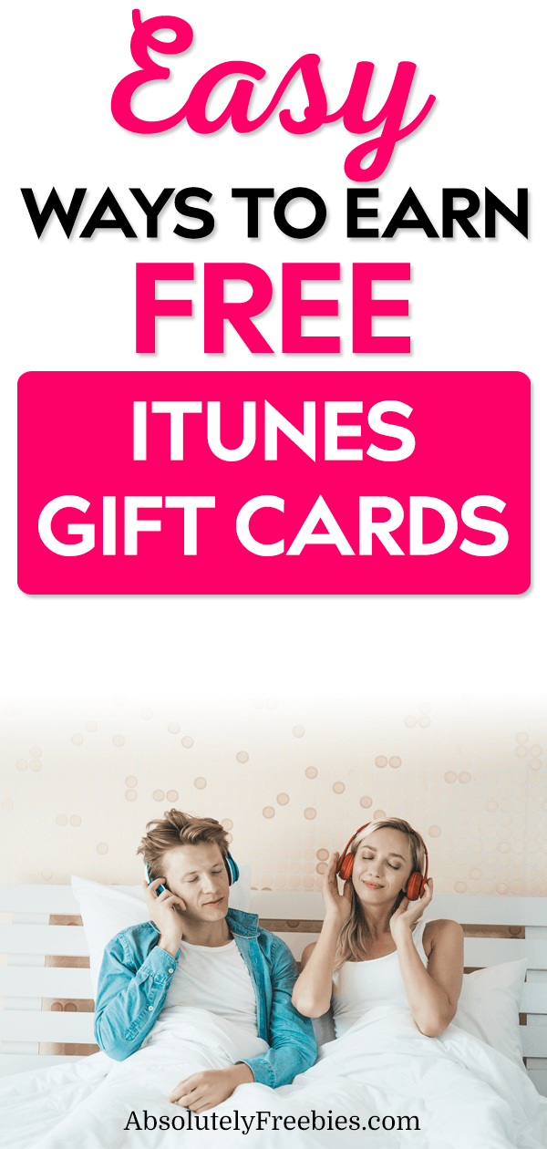 iTunes Gift Cards are the best gifts to receive and give, that's why I'm going to show you how to get FREE iTunes gift cards & codes the easy ways! #freeitunesgiftcards #itunescodes #itunesmoney #freegiftcards