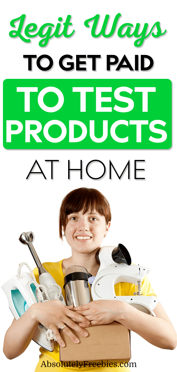 Getting paid to test products is simpler than what you may think. Check out these product testing companies that will mail out free samples. Become a paid product tester today! #producttester #getpaidtotestproducts  #testproducts #freesamples